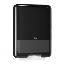 Диспенсер для листовых полотенец Tork Singlefold ZZ С 553008 черный