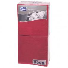 Салфетки Tork Advanced 18771-90 2 слоя 24х24 см 200 листов красные 6 шт