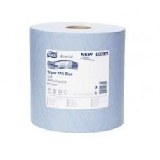 Материал протирочный Tork Advanced Wiper 440 Blue Performance 130080 3 слоя 37 см 255 м 750 листов