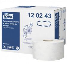 Туалетная бумага Tork мягкая 120243 2 слоя 10 см 170 м 1214 листов 12 шт