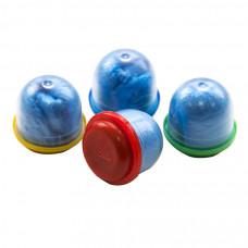 Бахилы в капсулах 2000 шт 15 микрон спайка синие