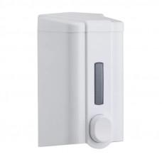 Диспенсер для жидкого мыла KonTiss ТДК-2-М 0,5 л ударопрочный пластик белый