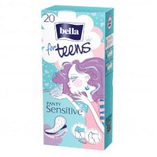 Прокладки гигиенические ультратонкие bella for teens Sensitive 20 шт