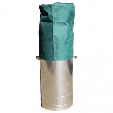 Бак для сбора отработанных люминесцентных ламп с чехлом