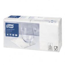 Салфетки Tork 477534 2 слоя 24х24 см 200 листов белые 12 шт