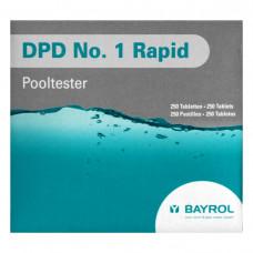 DPD №1 Rapid для ручного тестера уровня хлора 10 шт