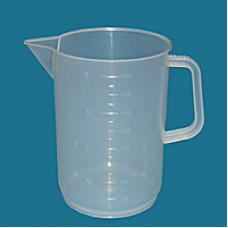 Мензурка-стакан Гритмед 1000 мл градуированная с ручкой пластик
