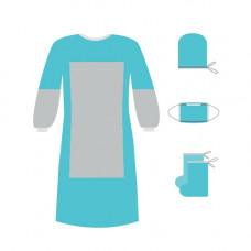 Комплект одежды хирургической КХ-02 стерильный