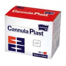 Повязка Cannula Plast для канюль стерильная 5х7,2 см 50 шт