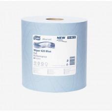 Материал протирочный Tork Advanced Wiper 420 Blue W1 Performance 130051 2 слоя 24 см 510 м 1500 листов