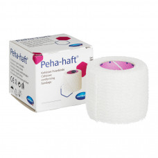 Бинт Peha-haft самофиксирующийся 10 см 20 м белый 6 шт
